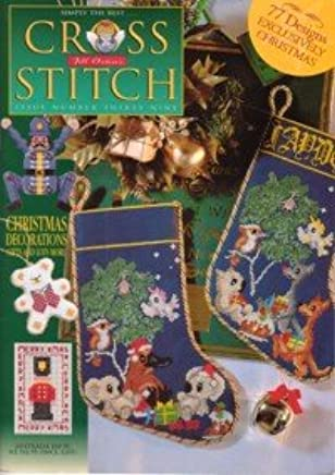 Jill Oxtons Cross Stitch Magazine, Issue 39, 77 Designs, Exclusively Christmas