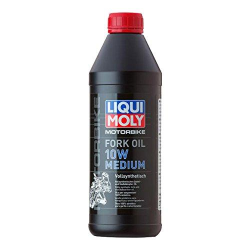 LIQUI MOLY 2715 Motorrad-Gabelöl 10W Medium, 1 L