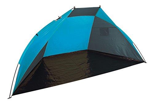 Bo-Camp biombo Gris/Azul 240 x 120 x 120 cm