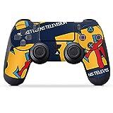 DeinDesign Skin kompatibel mit Sony Playstation 4 PS4 Controller Folie Sticker Rocket Beans TV Fanartikel RBTV