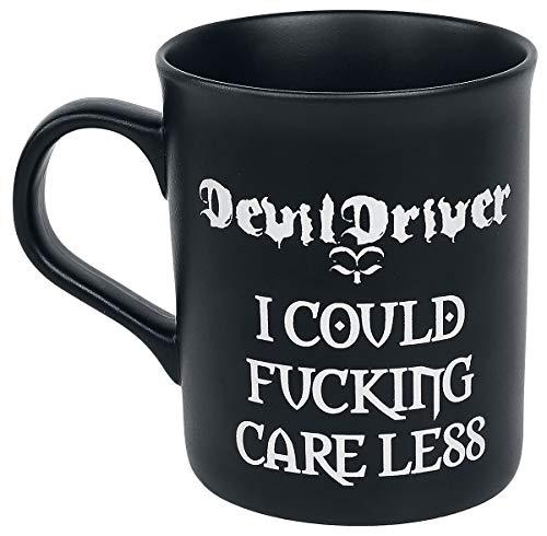 DevilDriver Kaffeebecher Care Less Matte schwarz