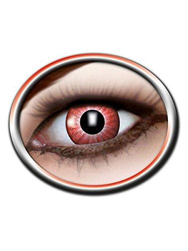 Eyecatcher m19 - Kontaktlinsen Motivlinse Electro Red