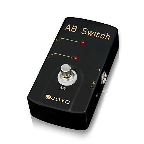 JOYO A/B Switch Pedal Switch Guitar Effect Pedals in Loop A Directly to Line B, Between Two Output Effects Loop Chains (JF-30)