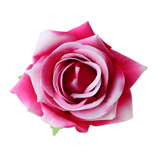 follwer0 Broche para mujer de terciopelo con diseño de rosa, simulación de pin, corpiño, suéter, bufandas, clips para bodas