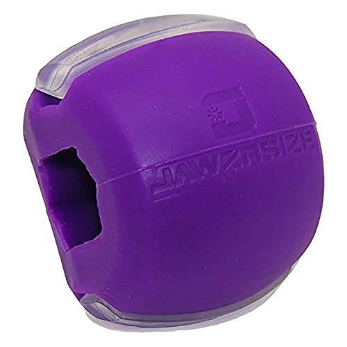 Tonificador facial, dispositivo ejercitador de mandíbula y equipo tonificador de cuello Jawzrsize: Nivel 2 (resistencia de 40 libras [18.14 kg] - (diversos niveles de resistencias disponibles)