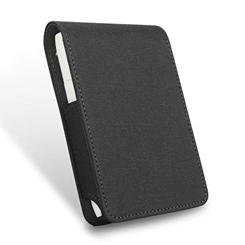 iQOS3 MULTI アイコス3 マルチ ケース 「簡単取り出しケース」 まとめて収納 PUレザー 革 プレゼント用 (ブラック)
