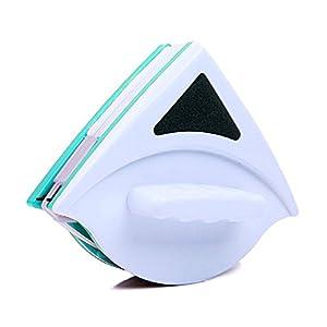 Limpiador magnético de cristal de doble cara de 15 a 23 mm, cepillo de limpieza de ventanas, limpiador de ventanas, cepillo de limpieza para limpiaparabrisas, Verde, Tamaño libre