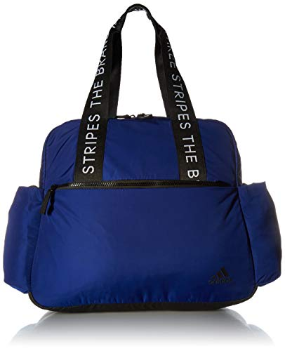 adidas Women's Sport To Street Tote Bag, Mystery Ink Blue/Black/White, ONE SIZE
