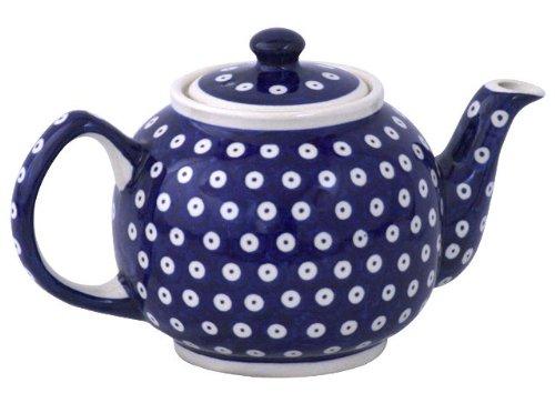 Original Bunzlauer Keramik Teekanne 1,00 Liter im Dekor 42