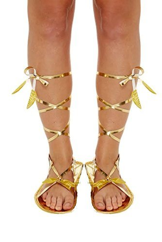 Henbrandt römischen Sandalen Schuhe Hausschuhe Mittelalter Ägyptische Griechisch Gladiator Fancy Dress Party Kostüm