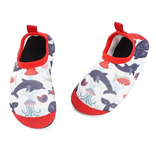 TIZAX Zapatos Verano de Agua para bebés Zapatos Escarpines Antideslizantes para niños Calcetines...