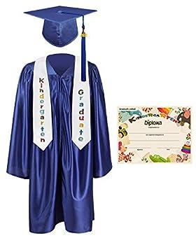 kindergarten cap and gown