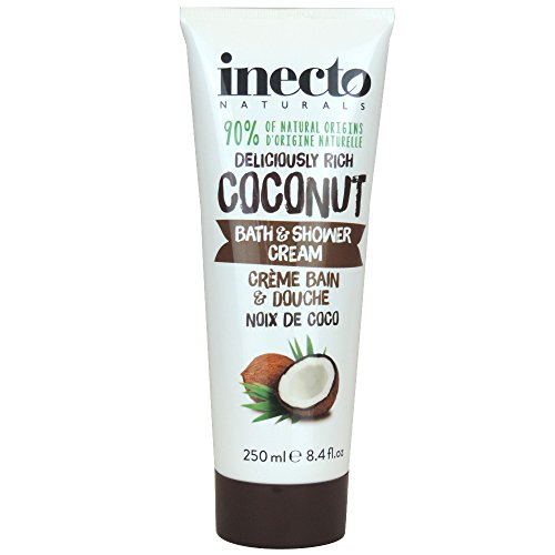 Inecto Naturals Bath und Shower Cream Coconut, 1er Pack (1 x 250 ml)