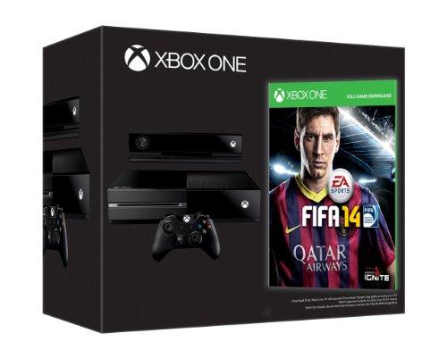 Console Xbox One - Bundle con FIFA 14 (codice digitale) e Chat Headset - Day-one Edition