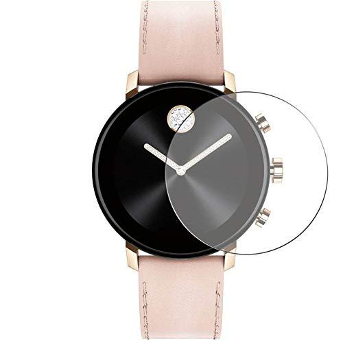 Vaxson 3 Stück 9H Panzerglasfolie, kompatibel mit Movado Connect 2.0 40mm Panzerglas Schutzfolie Displayschutzfolie Bildschirmschutz Intelligente Uhr Armband Smartwatch