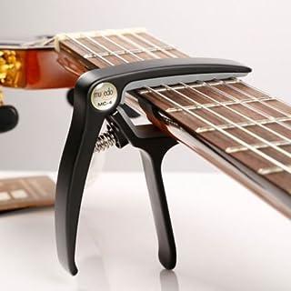 AuCatStore(TM) Aluminium Alloy Clamp Clip Acoustic Classic Guitar Capo for Adjust Tone GW