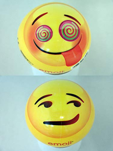 Emoji 16735 – Happy People Balle en Plastique, 23 cm
