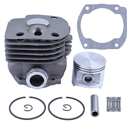 Haishine NIKASIL Plated Zylinderkolbenlagerdichtung 50mm Kit für Husqvarna 365 371 372 XP 362 Kettensäge 2-Takt-Motorteile