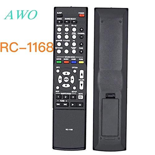 Calvas 1 Stück RC-1168 für Denon AV Audio/Video Receiver RC-1168 AVR 1613 AVR 1713 C-1181 1189 1912 1911 2312 3312 4312 4310