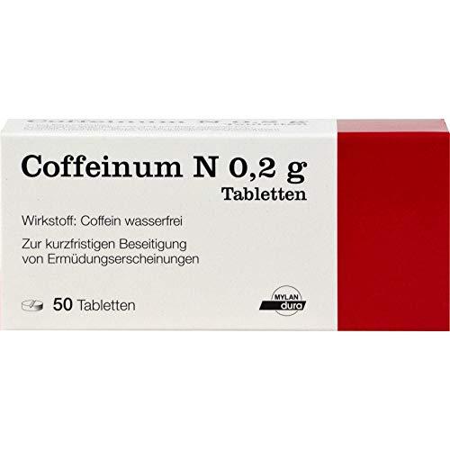 Coffeinum N 0.2 g Tabletten, 50 St. Tabletten