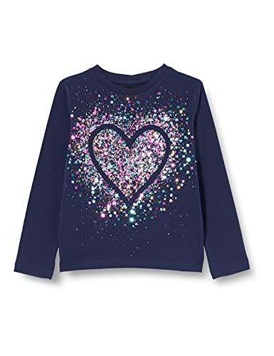 Desigual TS_Core T-Shirt, Blu, 5-6 Anni Bambina