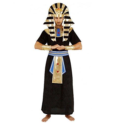 Mortino para Hombre Disfraz faraón Egipcio gobernante Carnaval Egipcio antigüedad antigüedades (XL)