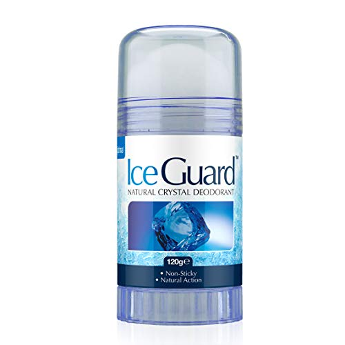 Ice Guard Natural Crystal Deodorant Twist Up 120g
