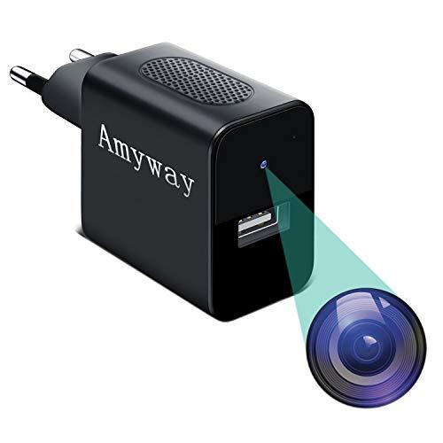 Mini Kameras 32 GB 1080P Tragbare Kleine Videokamera USB Mini Überwachungskamera mit Infrarot Nachtsicht/Bewegungsmelder Mehrweg