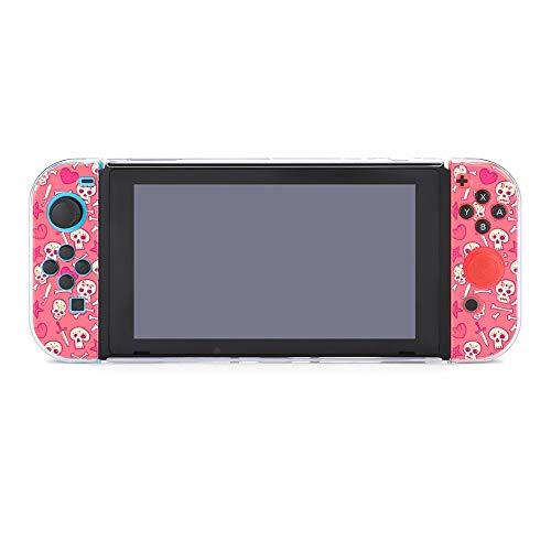 Funda para Nintendo Switch Skulls And Hearts Huesos y Dagas 5 Piezas...