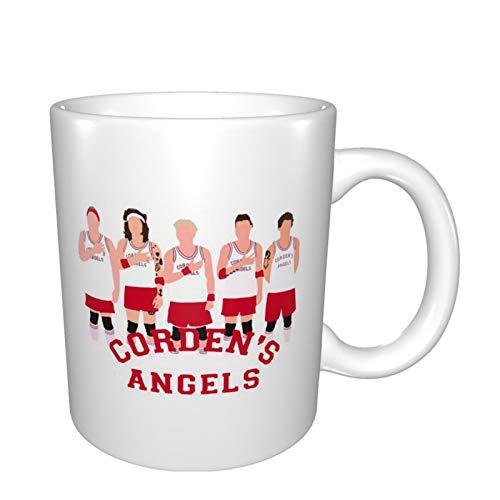 Huozhe Corden'S An-Gel One Direction - Tazas de porcelana para café, té, cacao (11 onzas), talla única, color blanco