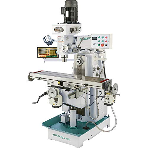 Review Of Grizzly Industrial G0827-11 x 50 2 HP Horizontal/Vertical Mill with DRO