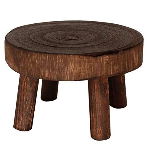 DF - Soporte de madera para plantas de interior (4 unidades,