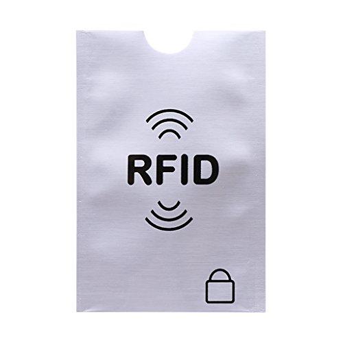 Runrain Schutzhülle für Kreditkarten, RFID-Schutz, Schutzschild, sichere Hülle, blockierende Hülle (S)