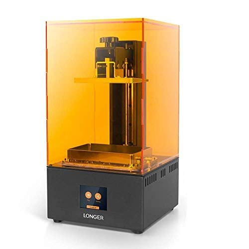 Seeed Studio Longer Orange 30 3D Printer, Upgraded Resin SLA 3D Printer with Touch Color Screen, 2K High Resolution LCD, Parallel LED Lighting, High-Temperature Warning, Bigger Build Size 4.72 x 2.68x
