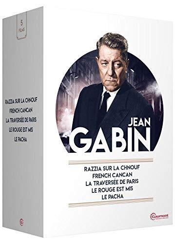Jean Gabin-French Cancan + Razzia sur la Chnouf + La traversée de Paris + Le Rouge est mis + Le Pacha