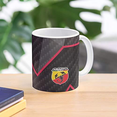 5TheWay Competizione Mug Carbon Abarth - Bestes 11 Unze-Keramik-Kaffeetasse Geschenk