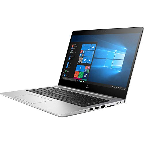 HP Elitebook 840 G5 14' IPS Full HD FHD (1920x1080) Business Laptop (Intel Quad-Core i5-8250U, 8GB DDR4 RAM, 256GB PCIe NVMe M.2 SSD) No Webcam, Type-C Thunderbolt, B&O Audio, HDMI, Windows 10 Pro