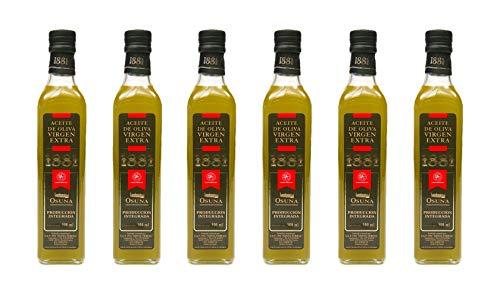 Aceite Oliva Virgen Extra 1881 6x500ml (Caja 6 Botellas)