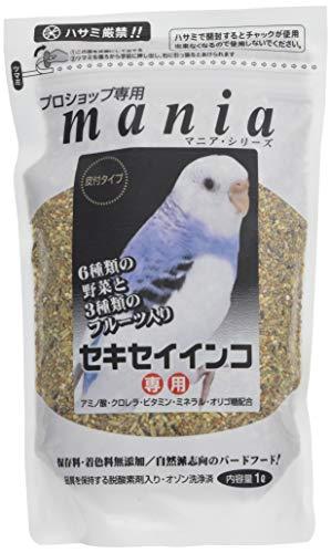 mania(マニア) プロショップ専用 セキセイインコ 1L