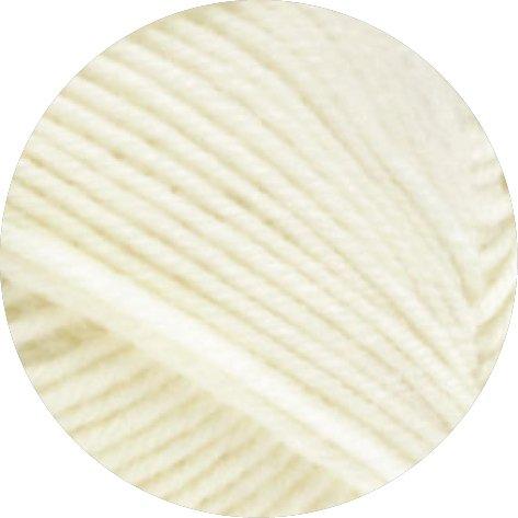 Lana Grossa Meilenweit Cashmere Sockenwolle freie Farbwahl (01 - Beige)