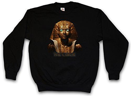 Urban Backwoods Egypt Pharao Vintage Sweatshirt Pullover Sweater Pull Noir Taille L