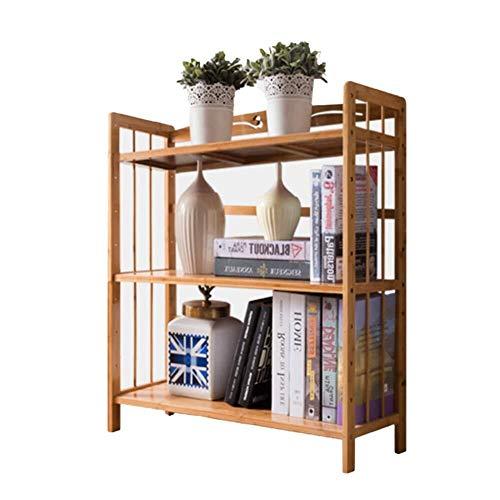 Estanteria Libros 3-6 Nivel estantería, estrecho Espesar Polivalente estante de exhibición del estante estantes altos Librería abierta de madera for el hogar u oficina ( Size : 100x70x26cm )