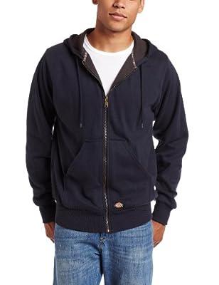 Dickies Men's Thermal Lined Fleece Jacket, Dark Navy, Large from Williamson Dickie Mfg Co.