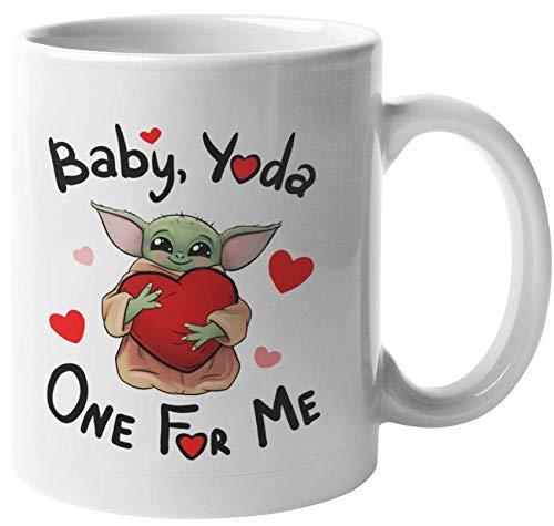 Baby Yoda Coffee Mug (Baby, Yoda one for me)