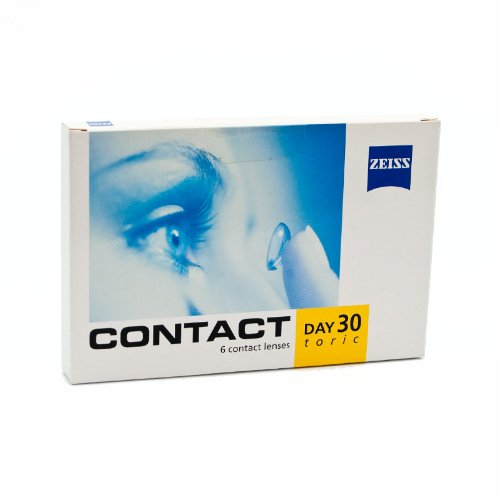 Zeiss Kontaktlinsen - Contact Day 30 Toric - 6er Box (-1,5-0,75x180)
