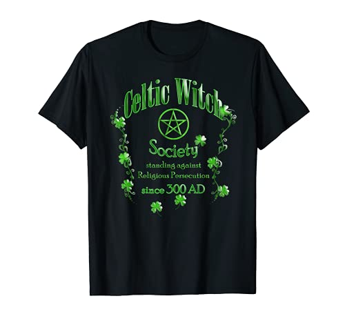 Celtic Witch, Irish or Celtic Pagan, Wtich or Wiccan Graphic T-Shirt