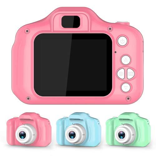 DISOK - Cámara de Fotos Digital Infantil, Ideales para Regalar a los ni@s en cumpleaños, Fiestas, colegios, comuniones, Bodas. (Verde)