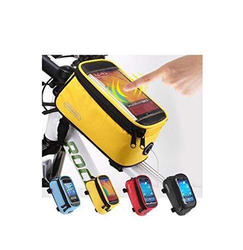 YHDQ Fahrradtasche Handy-Touchscreen-Tasche Handy-Touchscreen Verschleißfeste wasserdichte-professionelle Fahrradausrüstung