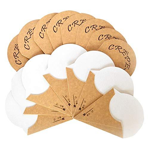 Embalaje alimentario Avana Artículos para Fast-Food, blanco acompañado papel marrón