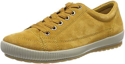 Legero TANARO-Sneaker, Damen Niedrig- Anderes Leder, Gelb (Curry (Gelb) 63), 40 EU (6.5 UK)